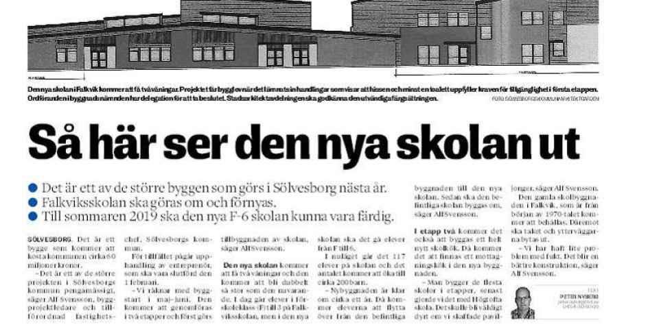 Falkviksskolan Sölvesborg
